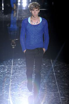 Gucci Spring 2009 Blue Top