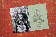What a cute, cute idea for Christmas cards.... love it!