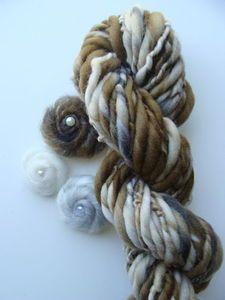 Image of Handspun Yarn Naturals