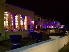 lavender-uplighting-at-the-spanish-river-library-boca-raton