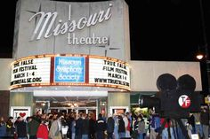 Missouri Theatre, before renovation #ColumbiaMO