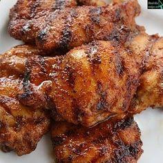 Spicy Honey Chicken - olive oil instead of veg oil