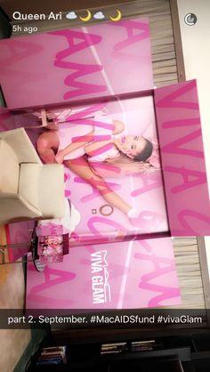 @loveforari new viva glam collection she's so pretty my cutie pie