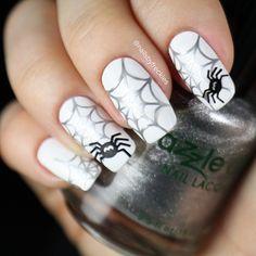 Instagram media nailsbyfreckles - Halloween  #nail #nails #nailart