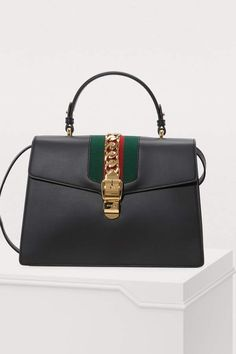101d88d853ce Gucci Sylvie Leather Top-Handle Bag Gucci Sylvie