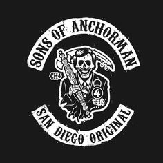 Check out this awesome 'Sons+of+Anchorman' design on @TeePublic!