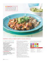 Tandoori chicken with lime raita recipe collection healthy food smoky chilli beef with guacamole recipe collection healthy food guide 2016 07 forumfinder Gallery