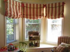 Relaxed Roman Shade Pattern - LightHouseShoppe.com