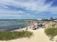 Old Silver Beach in Falmouth on Cape Cod