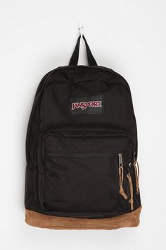 Jansport Basic Backpack Jansport Right Pack Backpack. I bought one of these 6 years ago. It's still in great shape, but maybe that's because I use my bigger North Face backpack more often. Puppy Backpack, Backpack Purse, Backpack Online, Hiking Backpack, Black Backpack, Cute Backpacks, Girl Backpacks, Awesome Backpacks, Black