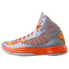 62bfcc1d361e Nike Hyperdunk fifth 5th edition orange basketball shoes gray orange Orange  Basketball Shoes
