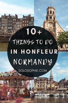 Beautiful France/ things to do in Honfleur, Calvados region, Normandy, France