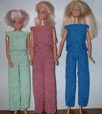 #Barbie #crochet #pants and #lace #top #FREE