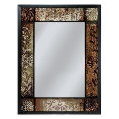 Head West Plum Patchwork Mirror, 25-Inch by 33-Inch:Amazon:Home & Kitchen