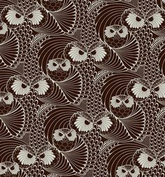 owl zentangles by Yehrin Tong