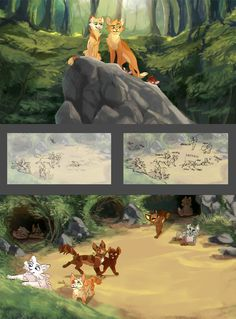 Warrior Cats Books, Love Warriors, Baby Kittens, Universe Art, Cat Design, My Happy Place, Mythical Creatures, Art Reference, Amazing Art