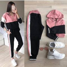 high school outfits with leggings Girls Fashion Clothes, Teen Fashion Outfits, Outfits For Teens, Girl Fashion, Girl Outfits, 80s Fashion, Sport Fashion, Fashion Fashion, Fashion Models