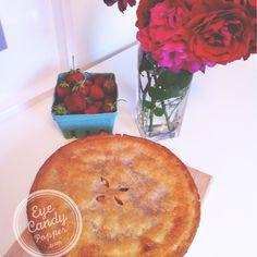 5 min apple, strawberry & rhubarb pie (vegan, refined sugar-free, low gluten)