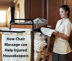 Housekeeping Appreciation Week Steps you can take to make sure your housekeepers are safe and injury free! Hotel Housekeeping, Good Housekeeping, Employee Morale, Massage Chair, Appreciation, Canning, Free, Clothes, Ideas
