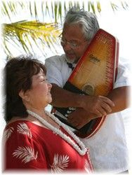 Aloha Forever Hawaii Weddings -Hawaiian Wedding Music...I could see this as grams and gramps! Cute!