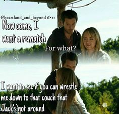 Ty and Amy: Blowing Smoke Heartland Season 6, Heartland Actors, Amy And Ty Heartland, Heartland Quotes, Heartland Ranch, Heartland Tv Show, Best Tv Shows, Best Shows Ever, Ty Y Amy