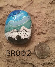 Dive right in, the water's fine! Bring home a bit of sun-kissed love with our Beachy Bliss hand painted rocks. Our technique of multi-layer painting will draw
