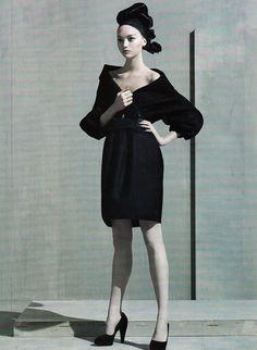 Gemma Ward by Steven Meisel for Vogue US