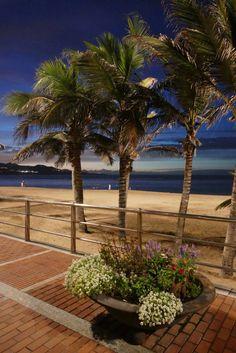 Playa de las canteras, Las Palmas de Gran Canaria, Islas Canarias
