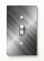 This is a clean, high-tech, modern look for any room of the house. Our switch cover design works for the formal dining room just as well as it does in the kitchen or bathroom. This one is simply beautiful. - All of the Best Designs Come From #SleepyPete: http://www.zazzle.com/tutuzdad*