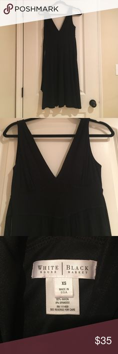 White House Black Market dress Great condition White House Black Market dress in size xs. Ties in the back. Perfect for sorority function or night out. White House Black Market Dresses