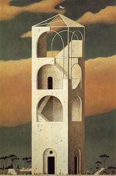 Architecture on canvas Minoru Nomata