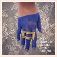 My ZiZi Jewels- ring #brass #new collection autumn winter 2014/15