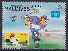 Maldives 1986-AMERIPEX'86-Walt Disney-L. 5-MNH