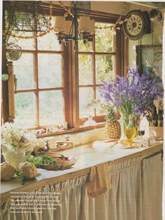 Pretty country kitchen
