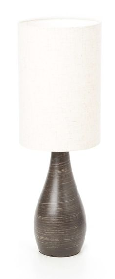 "Quatro Mini Tapered 17.5"" H Table Lamp with Drum Shade"