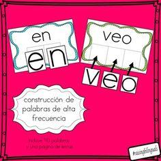 construcion de palabras alta frecuencia (building sight wo
