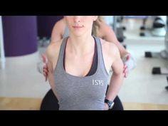 Vježbe za vrat i gornji dio leđa - pilates studio Isis - Vježbanjem do zdravlja - YouTube