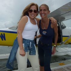 jen and julie- amazing woman from Bridal Guide who did a great feature on Key West Seaplanes to Little Palm Island!