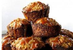 10 varázslatos muffin 15 perc alatt   NOSALTY – receptek képekkel Morning Glory Muffins, Nutella Muffin, Macarons, Meatloaf, Banana Bread, Paleo, Food And Drink, Sweets, Homemade