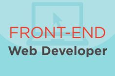 Here's a look at a typical front-end web developer job description and the average salary that goes with it. #jobs #careers