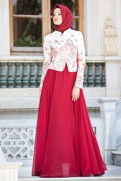 Evening Dress - Evening Dress - Evening Dress - 7272BR