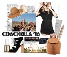 """Hot Coachella Style"" by tizocaspp ❤ liked on Polyvore featuring Yves Saint Laurent, ASOS, H&M, Estée Lauder, Rodin Olio Lusso, Forever 21, Essie, ShoeDazzle, Steve Madden and bestofcoachella"