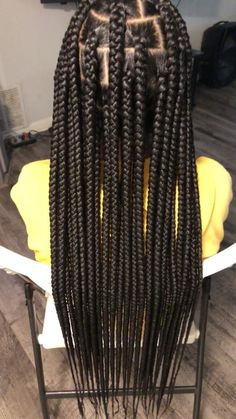 Box Braids Hairstyles For Black Women, Braids Hairstyles Pictures, African Braids Hairstyles, Braided Hairstyles For Black Women Cornrows, Braids For Black Hair, Cute Box Braids Hairstyles, Black Hairstyles, Protective Hairstyles, Natural Hairstyles