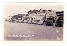 BC – QUESNEL, Front Street, Quesnel Hotel, John A. Fraser Co., Gowen c.1938-1950