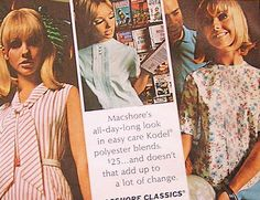 Vintage Print Ad MacShore Clothing 60s Glamour by retrovisions, $8.00