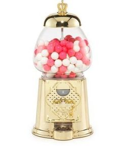Juicy Couture Gold Gum Ball Machine