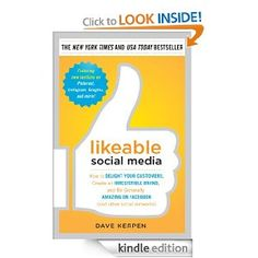 In the world of Facebook, Twitter, and beyond, that recommendation can travel farther—and faster—than ever before. Likeable Social Media helps you harness the power of word-of-mouth marketing to transform your business. #Kindle #WebMarketing