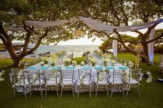 Luxury Outdoor Wedding by Bliss