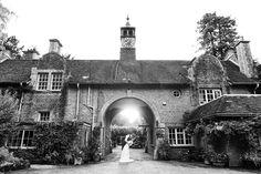 Busbridge Lake garden wedding portrait Surrey
