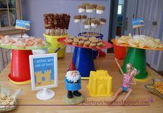 Beach party food ideas